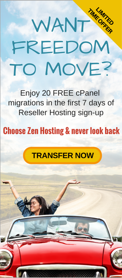 Get 20 free cPanel migrations with annual reseller hosting Australia
