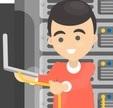 A Zen Hosting dedicated server can include server management
